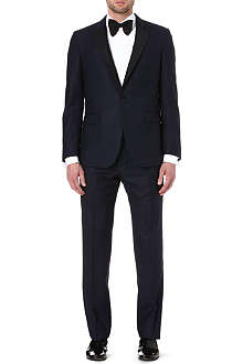 PAUL SMITH LONDON Wool and silk-blend suit
