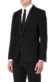 PAUL SMITH LONDON Byard grosgrain-detail suit