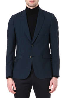 PAUL SMITH MAINLINE Peak-lapel checked suit jacket