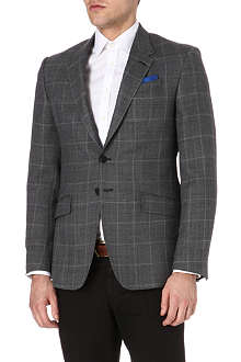 PAUL SMITH LONDON Westbourne windowpane-check blazer