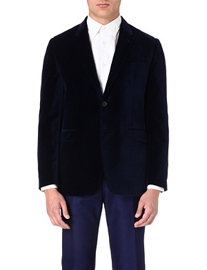 PAUL SMITH LONDON Tailored velvet jacket