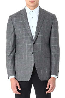 PAUL SMITH LONDON Checked wool jacket