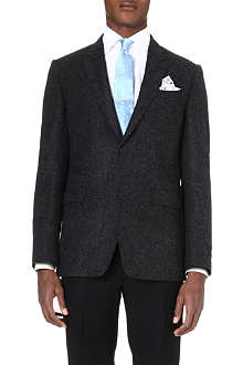PAUL SMITH LONDON Herringbone wool jacket