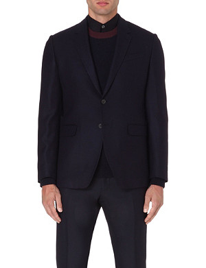 PAUL SMITH LONDON Basketweave wool blazer