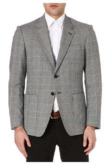 PAUL SMITH LONDON Checked notch-lapel blazer