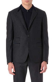 PAUL SMITH LONDON Single-breasted velvet lapel suit jacket