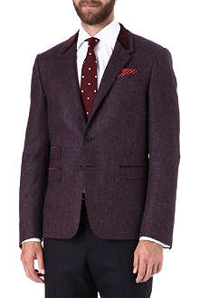 PAUL SMITH LONDON The Byard velvet collar jacket