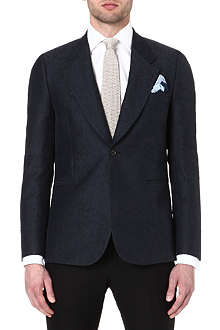 PAUL SMITH MAINLINE Textured wool and silk-blend blazer