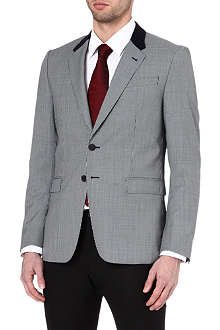 PAUL SMITH LONDON Single-breasted contrast collar jacket