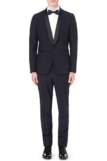 PAUL SMITH LONDON Kensington shawl-lapel wool-mohair suit