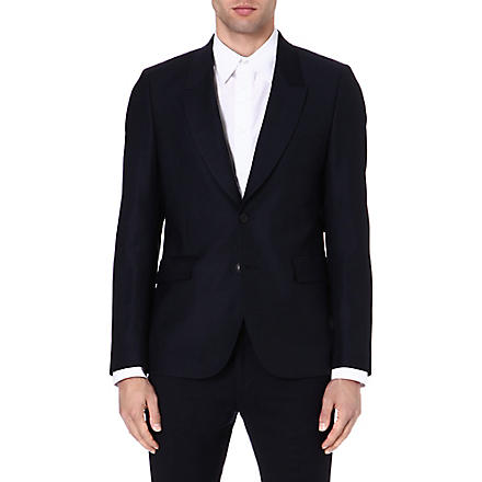 PAUL SMITH MAINLINE Windowpane check blazer (Navy