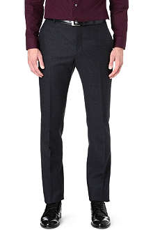 PAUL SMITH LONDON Slim-fit flecked trousers