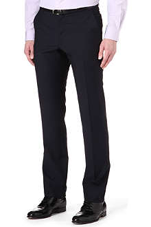PAUL SMITH LONDON Wool-mohair tailored trousers