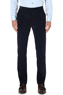 PAUL SMITH LONDON Slim-fit straight leg corduroy trousers