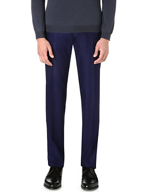 PAUL SMITH LONDON Tapered wool trousers