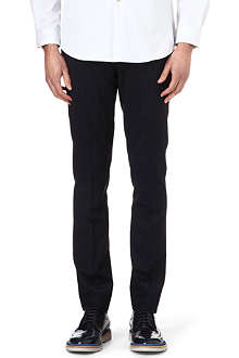 PAUL SMITH MAINLINE Slim-fit straight tailored trousers