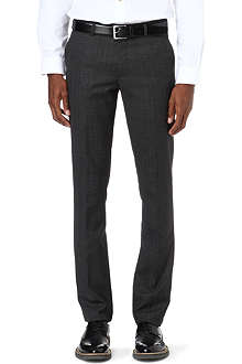 PAUL SMITH MAINLINE Prince of Wales check slim-fit trousers