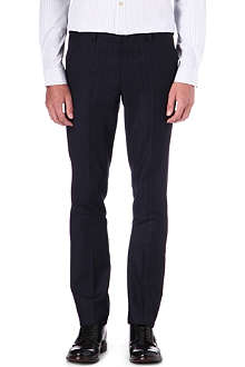 PAUL SMITH MAINLINE Slim-fit pinstripe trousers