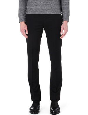 PAUL SMITH MAINLINE Slim-fit wool trousers