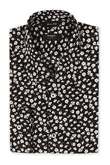 PAUL SMITH LONDON Westbourne floral-print classic-fit shirt