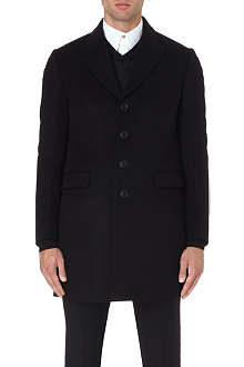 PAUL SMITH LONDON Single-breasted wool coat