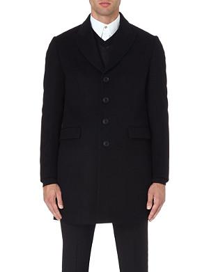 PAUL SMITH LONDON Single-breasted wool coat