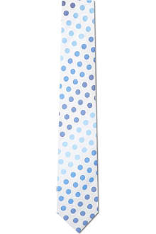PAUL SMITH LONDON Gradient spots silk tie