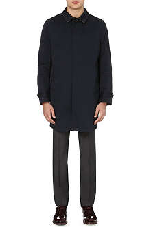 PAUL SMITH LONDON Long-sleeved twill coat