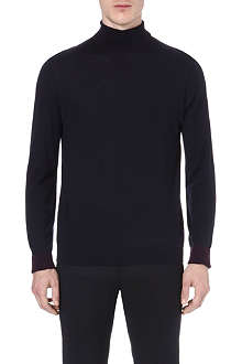 PAUL SMITH LONDON Contrasting roll-neck jumper