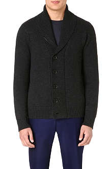 PAUL SMITH LONDON Chunky shawl-neck cardigan