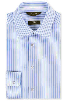 PAUL SMITH LONDON Byard slim-fit single-cuff striped shirt