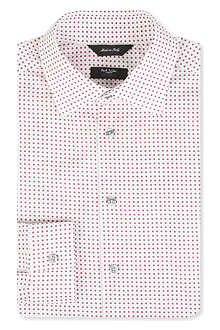 PAUL SMITH LONDON Byard geometric print single-cuff shirt