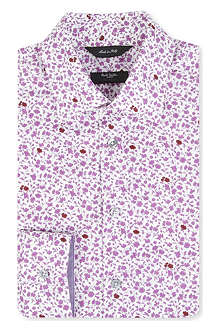 PAUL SMITH LONDON Byard floral tailored single-cuff shirt