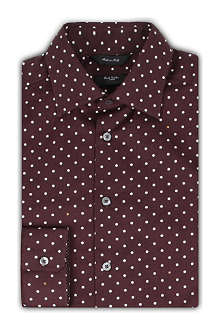 PAUL SMITH LONDON Byard polka dot single-cuff shirt