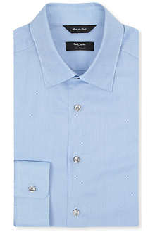 PAUL SMITH LONDON Byard slim-fit birdseye shirt