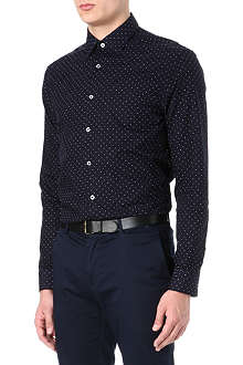 PAUL SMITH LONDON Slim-fit polka dot shirt