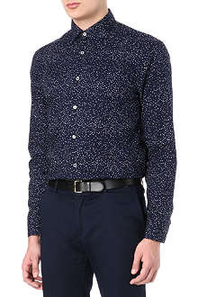 PAUL SMITH LONDON Pixel printed shirt