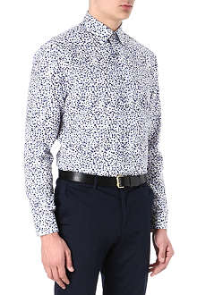 PAUL SMITH LONDON Blurred floral print shirt
