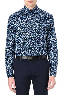 PAUL SMITH LONDON Floral printed shirt