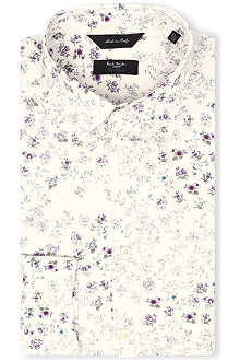 PAUL SMITH LONDON Slim-fit floral shirt