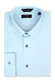 PAUL SMITH LONDON Byard tailored-fit cotton shirt