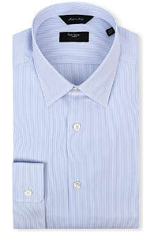 PAUL SMITH LONDON Striped regular-fit single-cuff shirt
