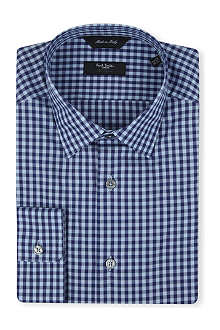 PAUL SMITH LONDON Gingham cotton shirt