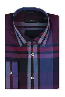 PAUL SMITH LONDON Exploded check shirt