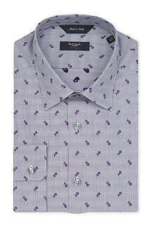 PAUL SMITH LONDON Vintage floral tailored-fit shirt
