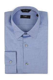 PAUL SMITH LONDON Byard spread-collar single-cuff shirt