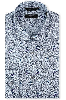PAUL SMITH LONDON Westbourne floral regular-fit single-cuff shirt