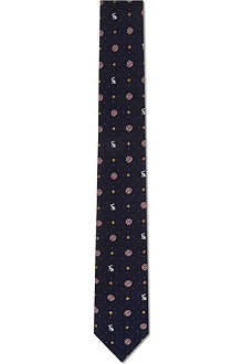 PAUL SMITH LONDON Skinny rabbit tie