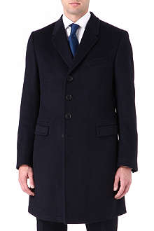 PAUL SMITH LONDON Single-breasted cashmere coat