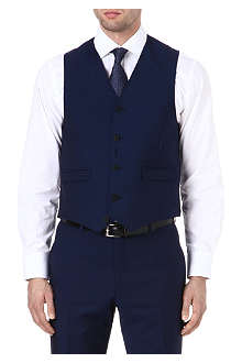 PAUL SMITH LONDON Wool and mohair waistcoat